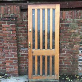 Doors, external, various sizes, all in good condition from £25.00