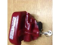 Alko hitch lock type 1 in good condition 2 keys