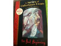 A series of unfortunate events by lemony snicker