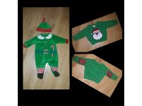 0-3 months Christmas clothes