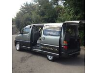 95/2002 TOYOTA GRANVIA 30 TD 7 SEATER/HI SPEC/ONE OWNER/LOW MILES/NEW MOT/NEW CAMBELT/MAZDA BONGO