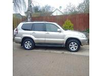 Toyota Landcruiser 2005, TOP of the Range LC5, Automatic, Diesel, Nav, Bargain £6995 ono