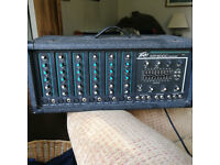 Peavey XR 600C 6 Channel Stereo Mixer amp
