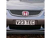 Vtec Cherished Private Number Honda Civic Type R EP3 FN2 DC5 DC2 EK9 B16 B18 CRX EK EJ EG