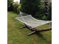 Large double hammock.