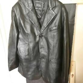 Mens Leather Jacket. Size L