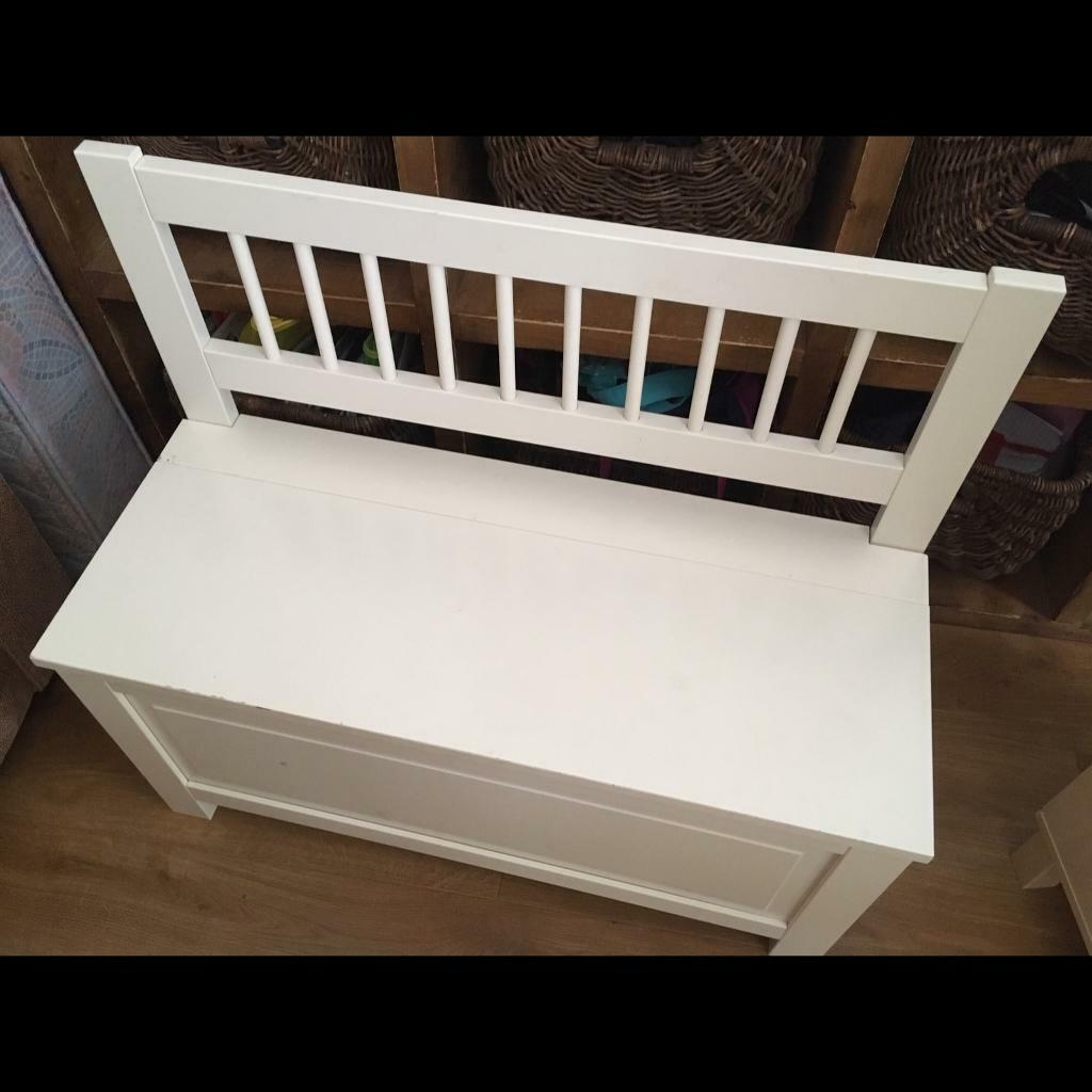 Wondrous White Bench End Of Bed Storage In Hounslow London Gumtree Gmtry Best Dining Table And Chair Ideas Images Gmtryco