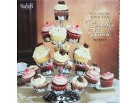 Rotating cupcake / fairy cake stand