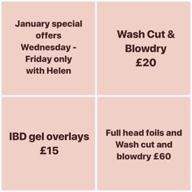 January Special offer - Hair & Beauty salon