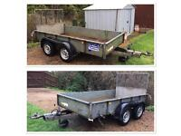 Ifor Williams GD105 Twin Axle Plant Trailer - 2700KG Gross Weight - 10ft x 5ft