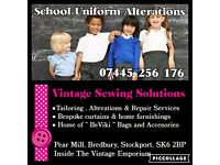 Alteration, Uniform alteration, Repair,Curtain, Soft furnishing, Cushion