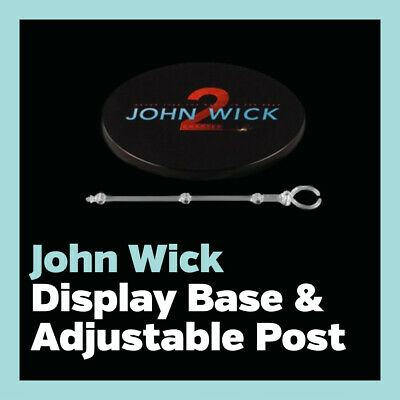 Mezco ONE:12 John Wick: Chapter 2 Display Base & Adjustable Post only