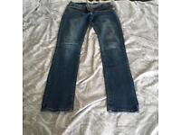 Red herring jeans