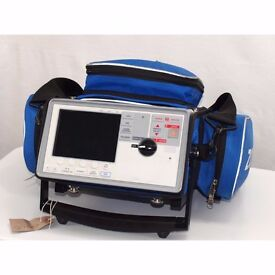 Zoll E Series Defibrillator biphasic AED with NIBP, CO2, SP02, 12 lead ECG.