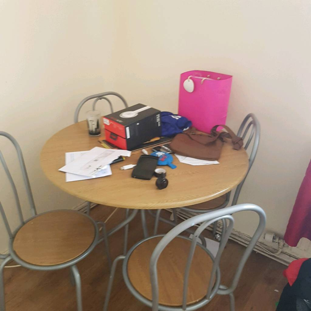 Free small dining table and king size bed