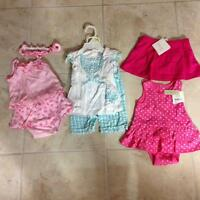 Lot of baby girl outfits