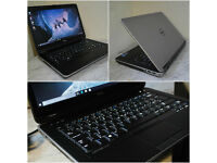"""Brilliant condition, superfast Dell Latitude 14"""" HDMI laptop with backlit keyboard. 12GB DDR3 RAM."""