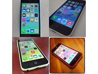Iphone 5c's