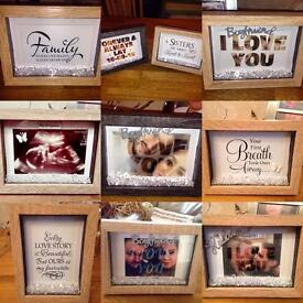 Personalised 3D Photo Frames