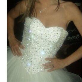 Justin Alexander Wedding Dress Size 6/8