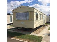 Caravan to rent, Skegness, July 31-Aug5th available, Sept & Oct Highfields Caravan Park, 3 Bedrooms