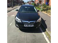 Automatic Vauxhall Astra exclusiv 2010 44,000