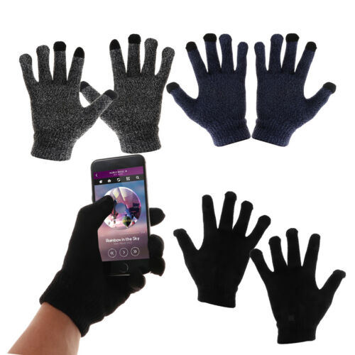 Winter Warm Gloves Touchscreen Windproof Outdoor Cycling Run
