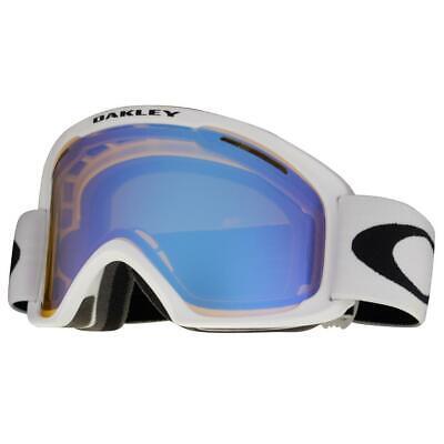 Oakley 59-085 O2 XL Matte White w/ HI Yellow Blue Lens Unisex Snow Ski Goggles .