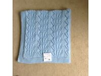 Brand new hand knitted baby blankets