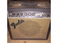 Reverb guitar Amp and lead 1983-1985