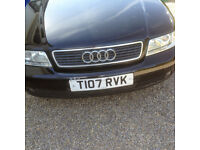 Audi A4 great first car, starts firs time,everything works comes with MOT