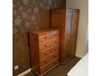 Wardrobe £60 drawer £40 both £80