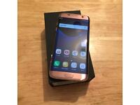 Samsung Galaxy S7 Edge 32gb Rose Gold Unlocked...!!!