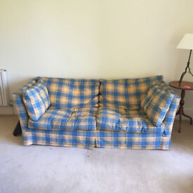 Comfortable large and classic sofa