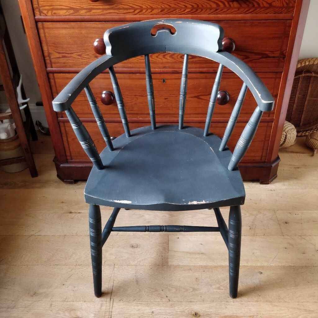 office chair vintage. Smokers Chair. Bow Office Vintage Chair