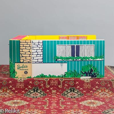 Vintage Complete Barbie Dream House with Still Vivid Colors from 1962