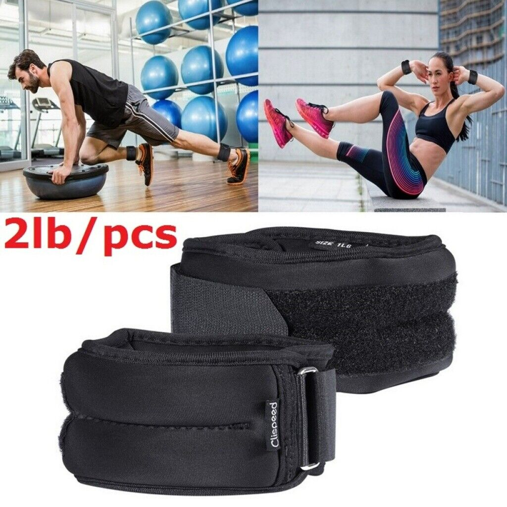 sporteq pair ankle wrist weights for cuff
