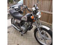 Huoniao 125cc Motorbike 15 plate