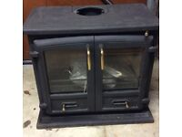 Valor Baltimore multi fuel fire, double doors. Brand new never used.