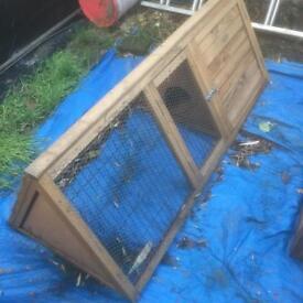 Chicken , rabbit hutch