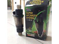 CO2 Atomizer External Atomic Diffuser Reactor Aquarium Water Plant Fish Tank