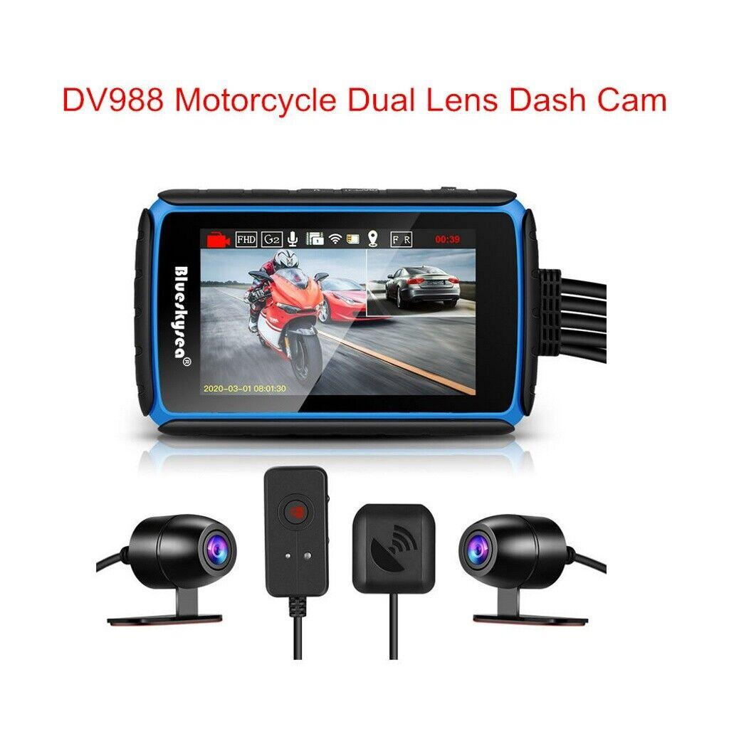 Dual Motorbike Camera Motorcycle 1080p HD Video DVR Video Dash Cam Recorder MF