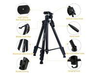 Camera Tripod 60 Inch Portable Professional Light Weight Traveller Tripod