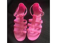 PINK Sandals UK6