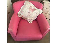 Pink Arm Chair TK Maxx