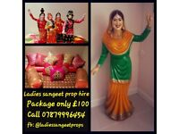 £100 Ladies sangeet/ mehndi/ lohri prop hire package in West London
