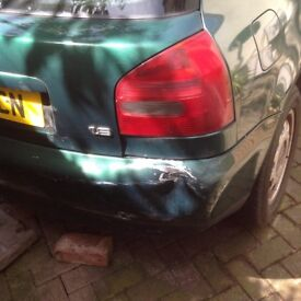 Audi A3 1.6 petrol manual 2000 for spares -£290