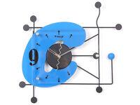 35cm Large Digital Mute Quartz Motion C Alphabetic Wall Clock In outdoor Décor