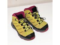 hiking boots Salomon Hiking Boots [ Childrens ] UK Size 12.5