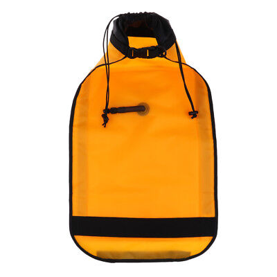 Used, Dual Chamber Safety Float Inflatable Paddle Bag for Snorkeling Surf Boating for sale  Shipping to Canada